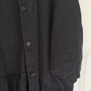 5eda097944 Seaside Tones Dresses - Seaside Tones Oversized Linen Dress - Grey